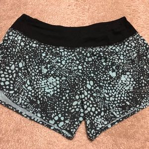 Nike running/workout shorts in size small